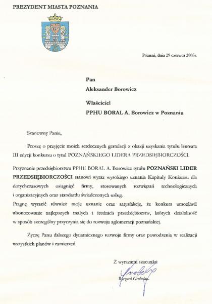 poznański lider